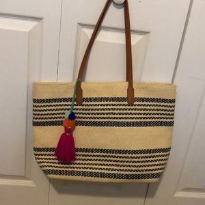 Old Navy Tote with Tassle
